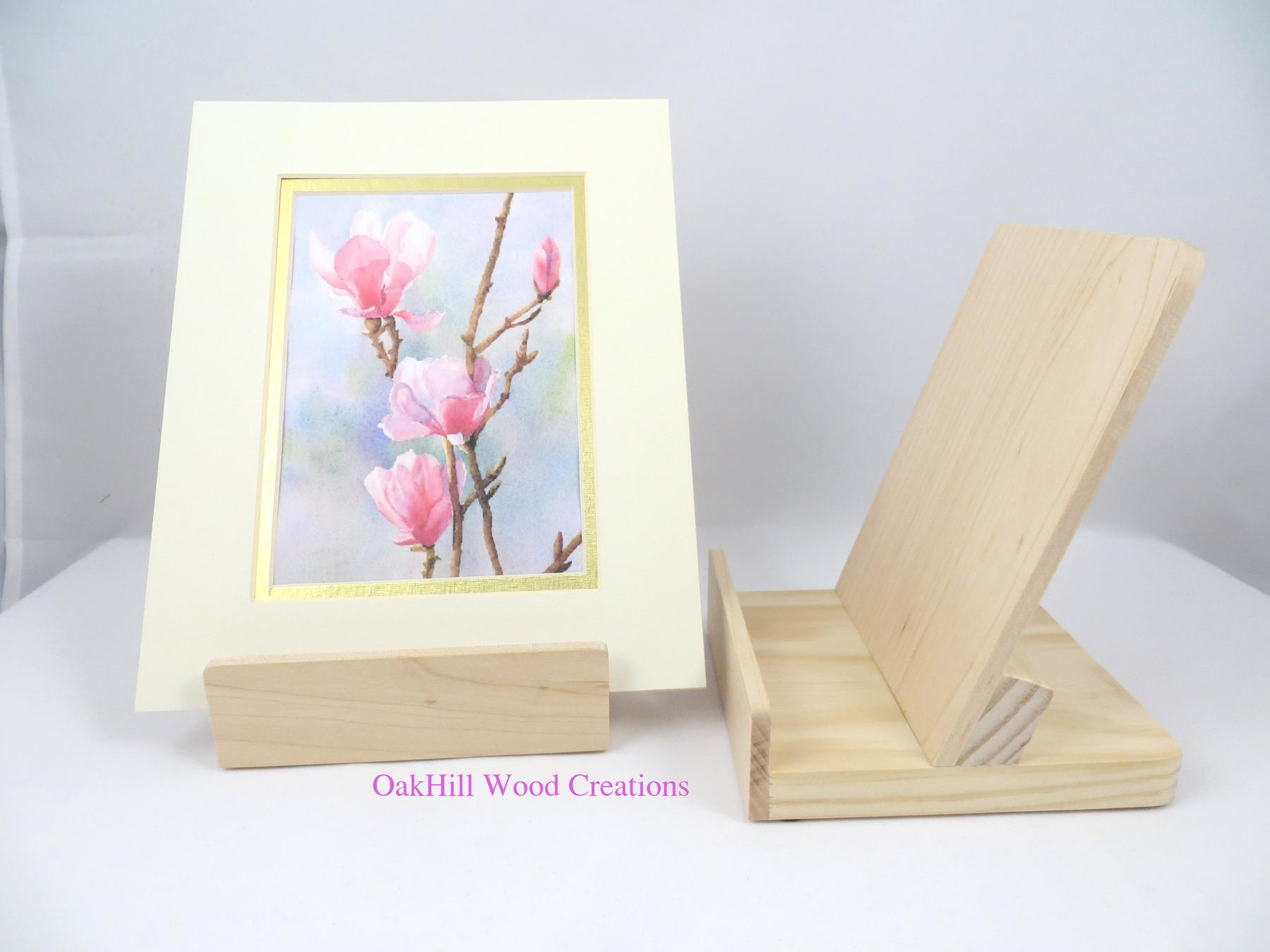 Display Stand –Single Matted Prints, Picture Frames, I-Pad or Tablet ...